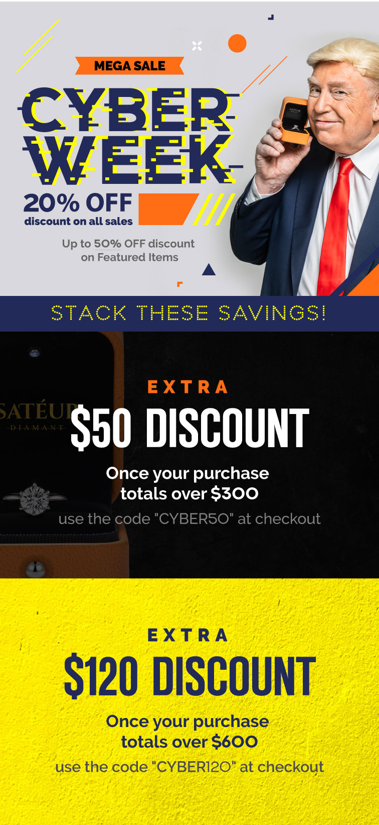 Cyber Monday Jewelry Deals Gift Sales Sateur